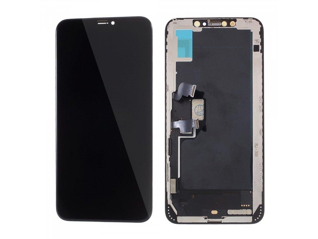 Apple iPhone XS MAX LCD in-cell přední panel komplet dotykové sklo