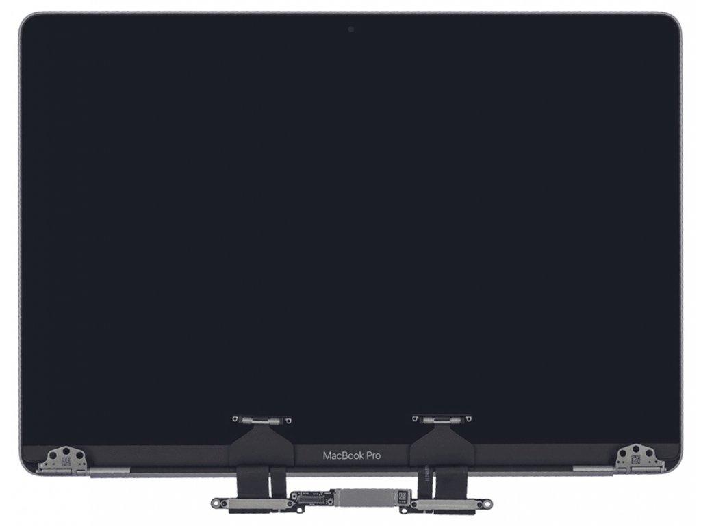 """Apple MacBook Pro Retina 13"""" A2159 LCD displej kryt kompletní horní víko Space Grey"""