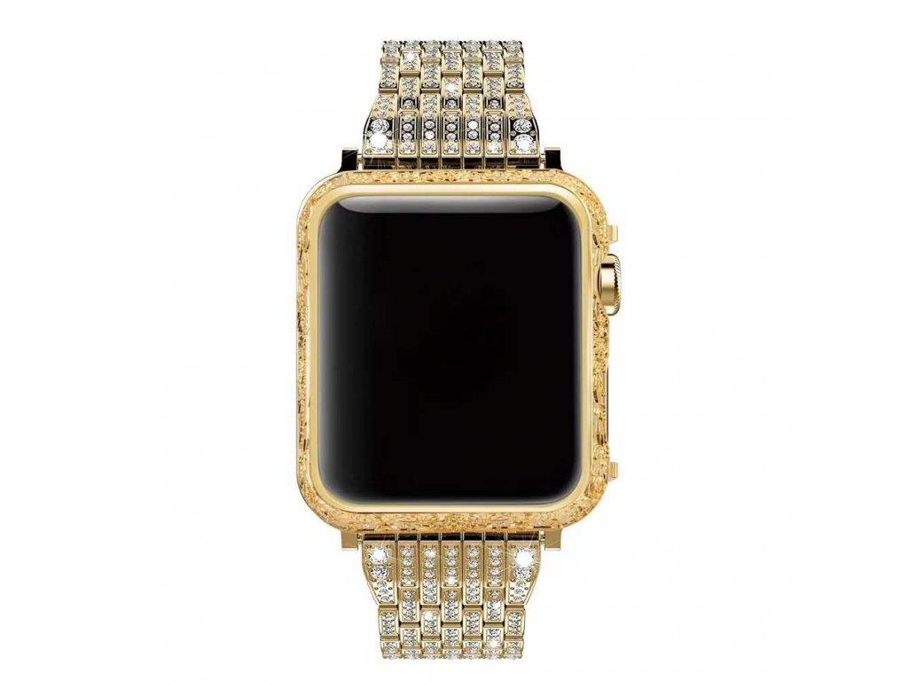 Apple Watch kompletní pásek 42mm zlatý