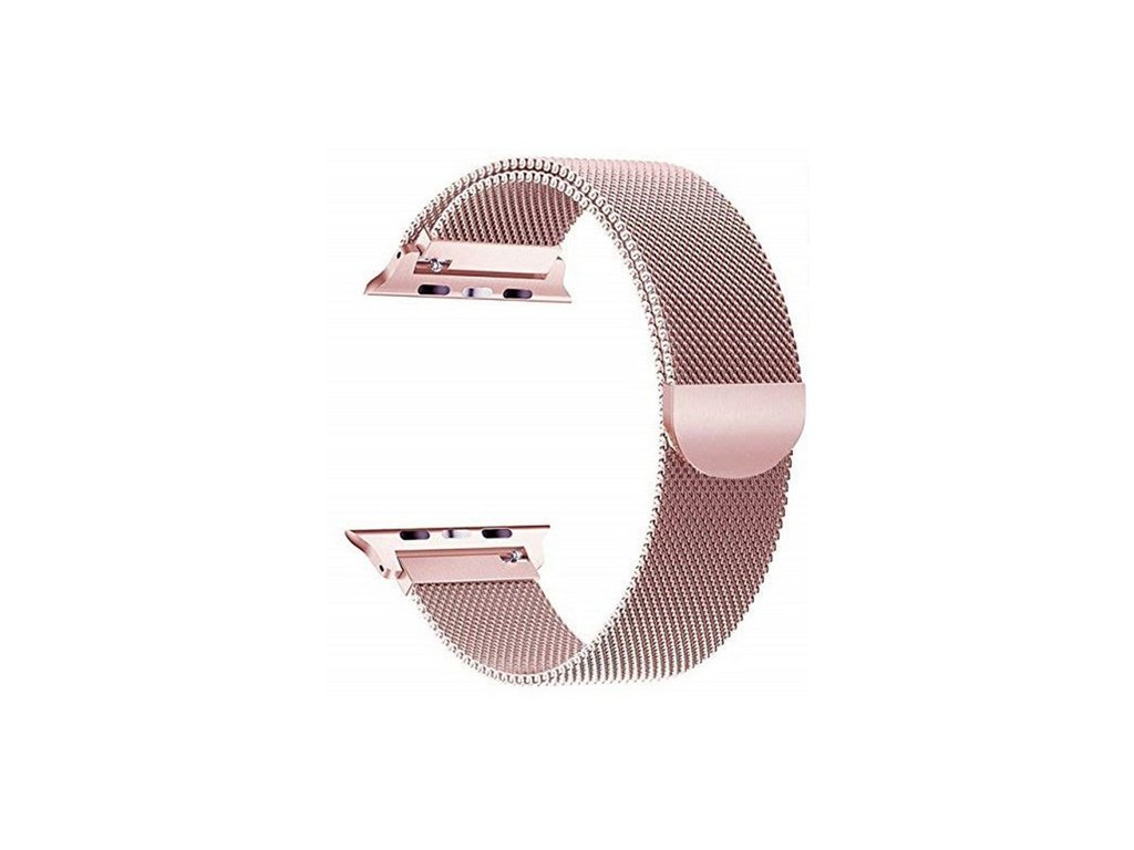 Apple Watch magentický pásek Milanese 40/42mm rose