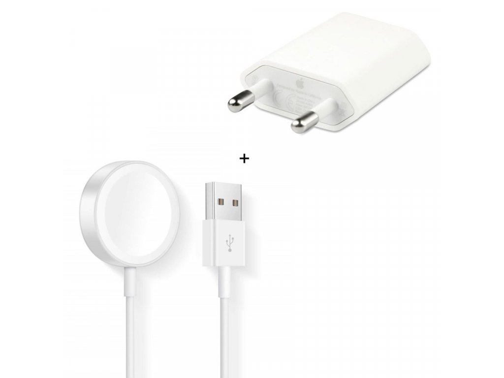 Apple Watch nabíječka (kabel 1m + adapter) original