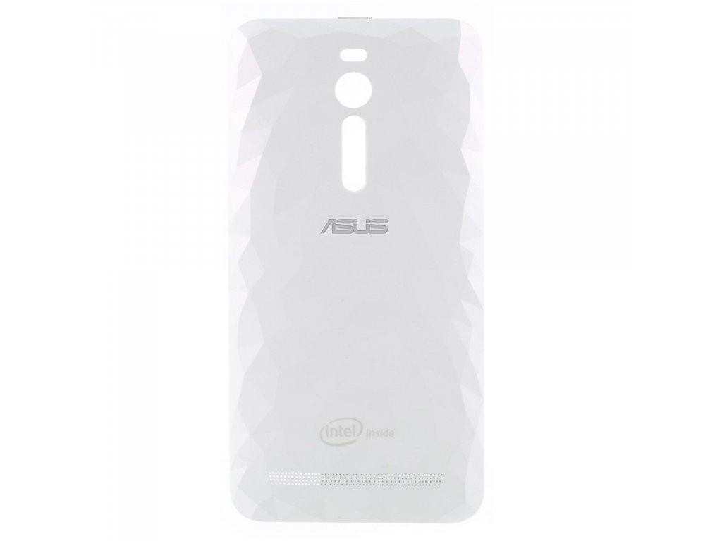 Asus Zenfone 2 zadní kryt baterie plastový diamantový vzor bílý ZE551ML