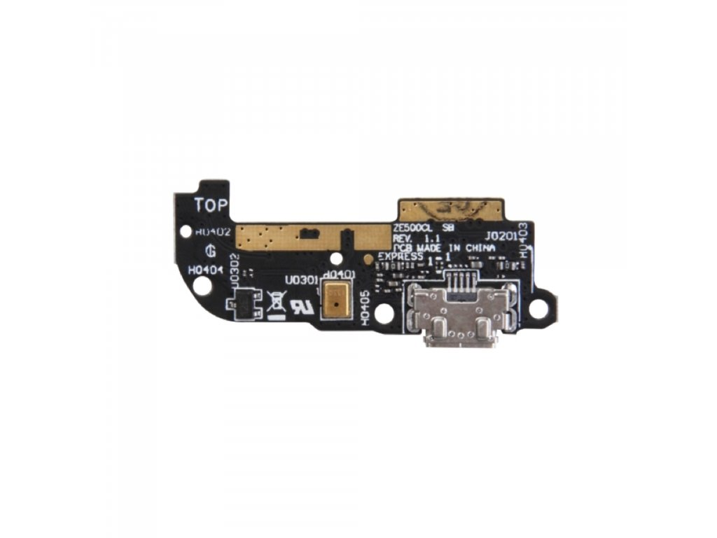 Asus Zenfone 2 ZE500CL micro USB konektor nabíjení napájecí dock mikrofon