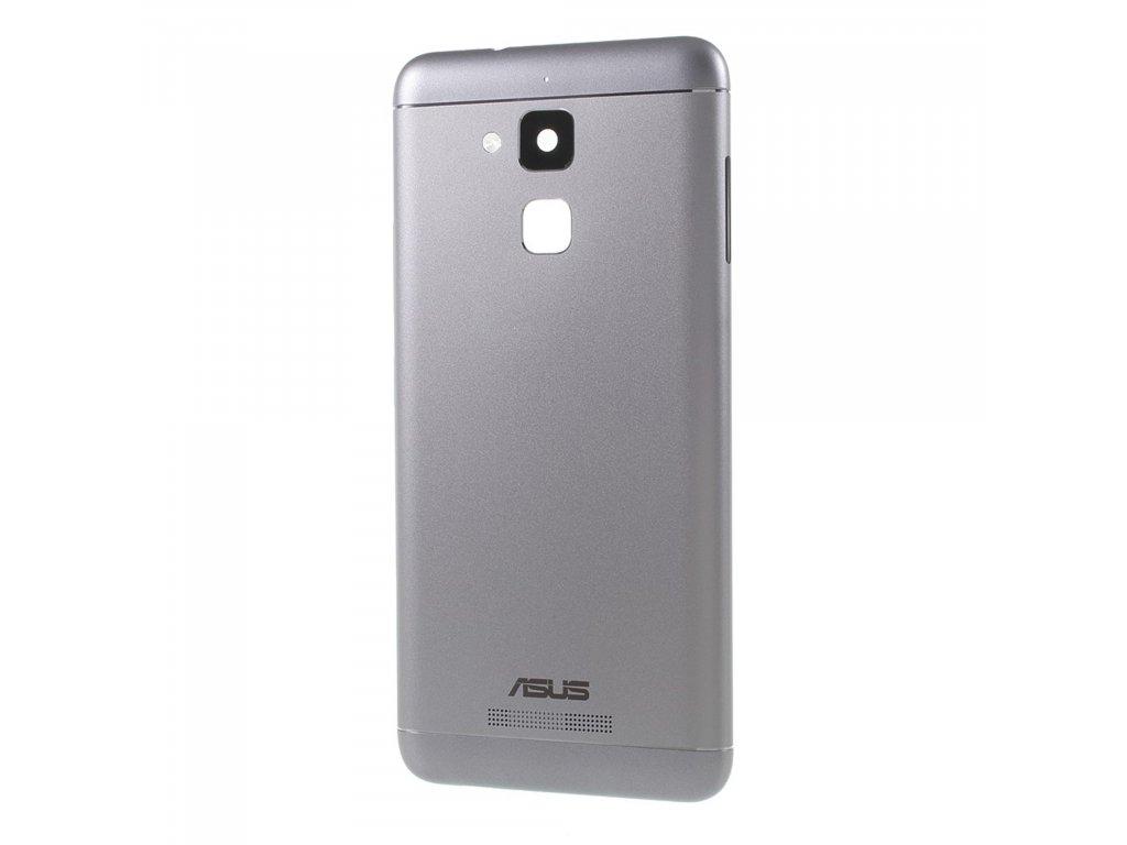 Asus Zenfone 3 Max Zadní kryt baterie hliníkový šedý ZC520TL