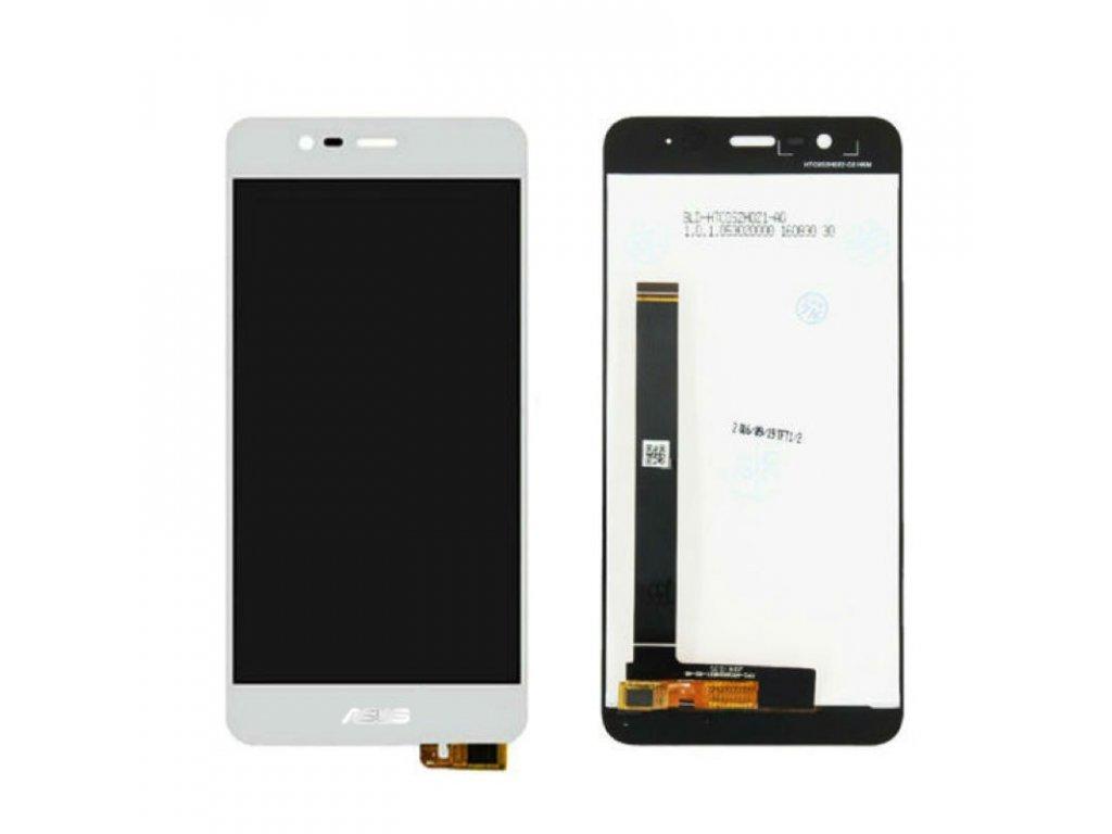 Asus Zenfone 3 Max ZC520TL LCD displej dotykové sklo bílé komplet přední panel