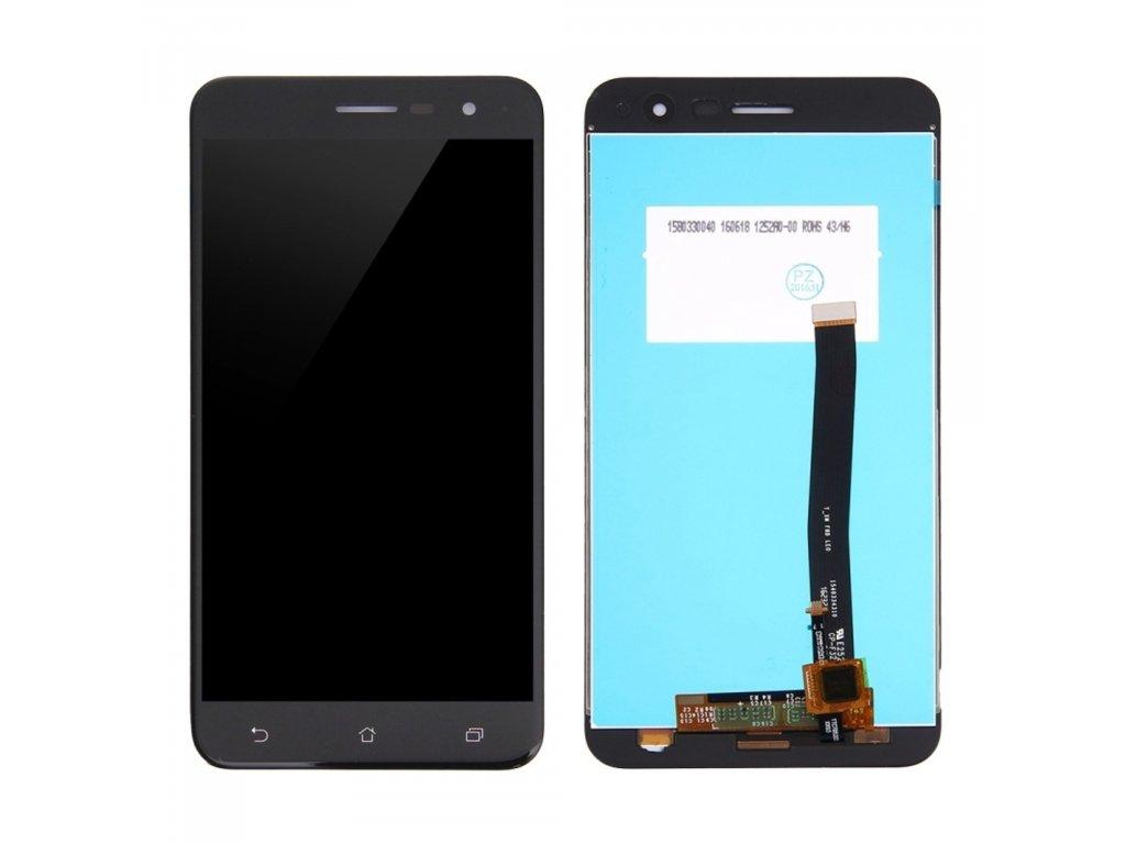 Asus Zenfone 3 ZE520KL LCD displej černý + dotykové sklo komplet
