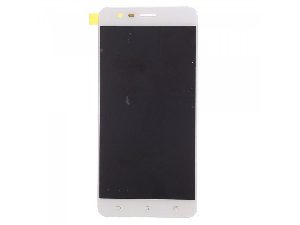 Asus Zenfone 3 Zoom ZE553KL LCD displej dotykové sklo bílé komplet přední panel