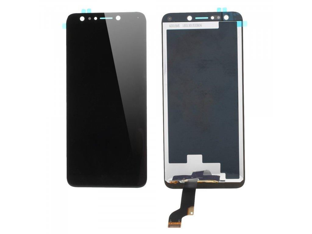 Asus Zenfone 5 Lite LCD displej komplet dotykové sklo přední panel černý ZC600KL