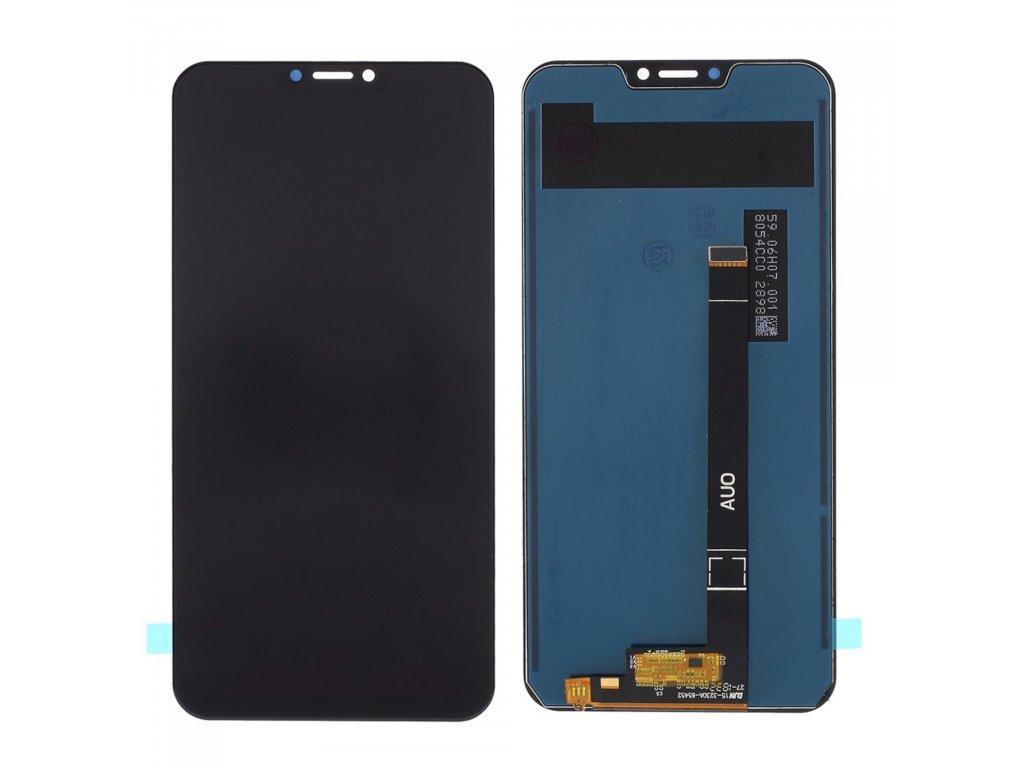 Asus Zenfone 5Z LCD displej dotykové sklo komplet černý ZS620KL