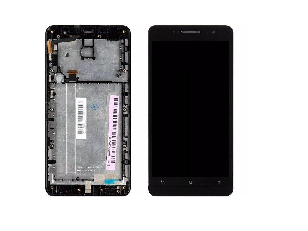 Asus Zenfone 6 rámeček+LCD+dotyk černý