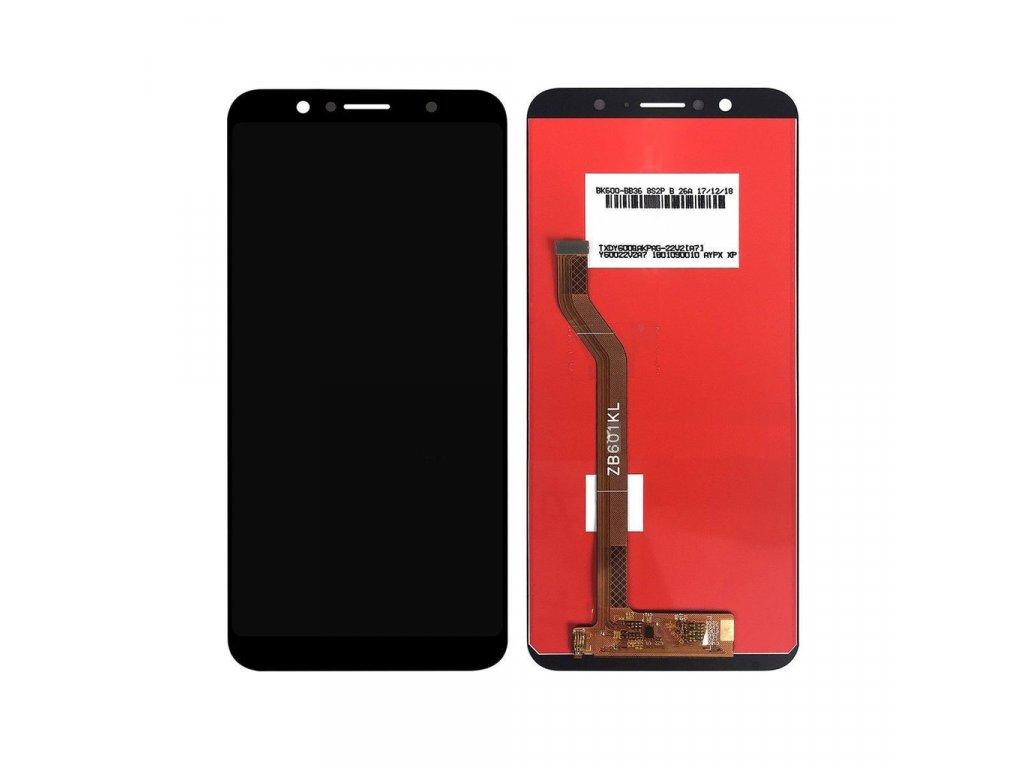 Asus Zenfone Max Pro LCD displej dotykové sklo komplet přední panel černý (M1) ZB601KL