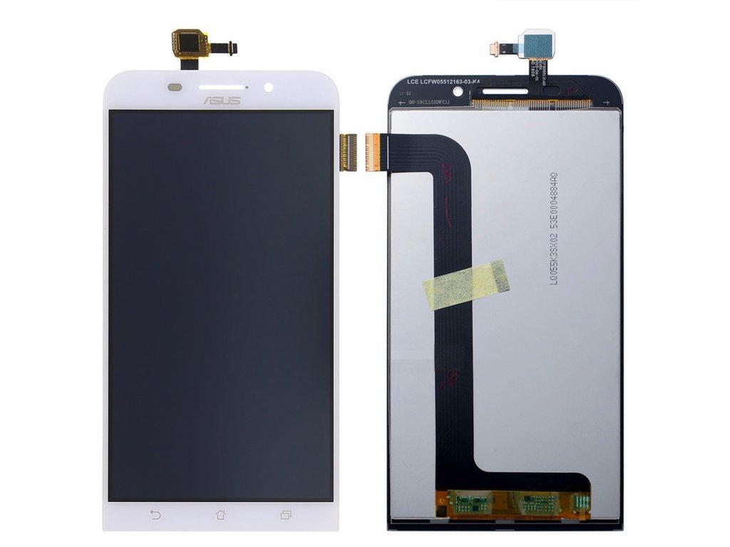 Asus Zenfone Max ZC550KL LCD displej bílý dotykové sklo komplet