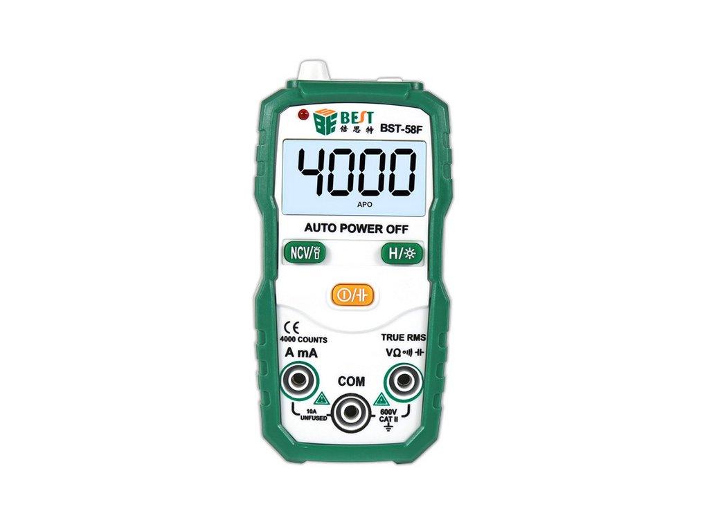 Automatický digitální multimeter BST-58F