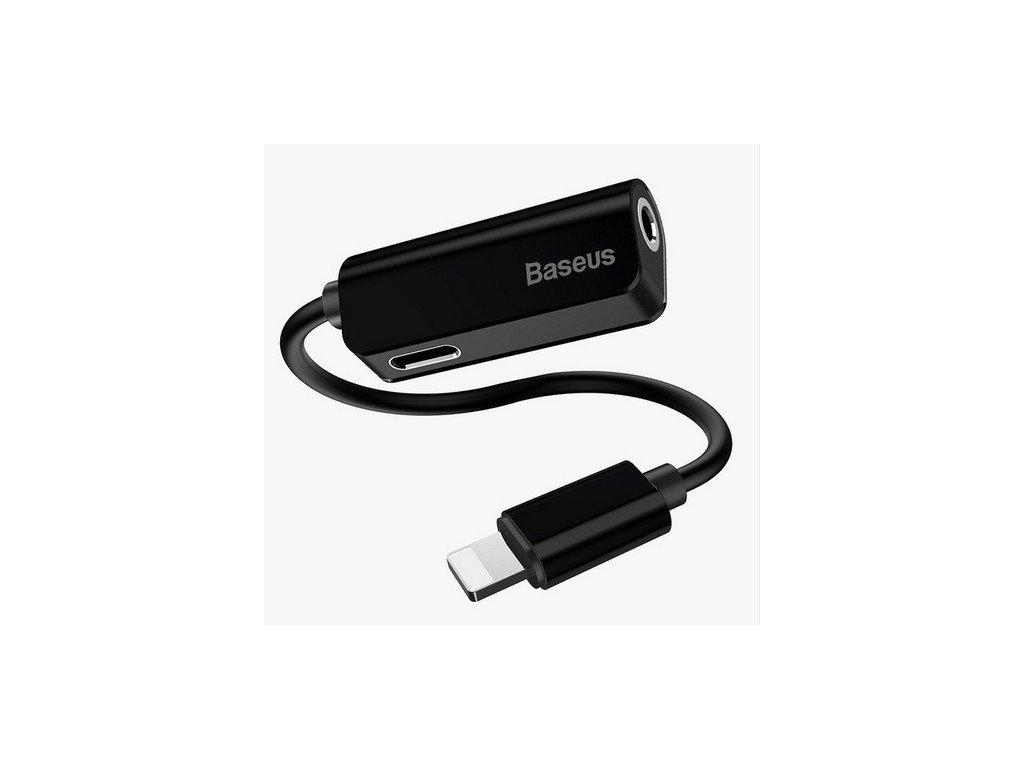 Baseus audio redukce L42 pro iPhone černá