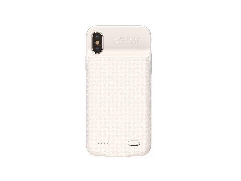 Baseus power bank case 3500mAh / iPhone X,XS bílé