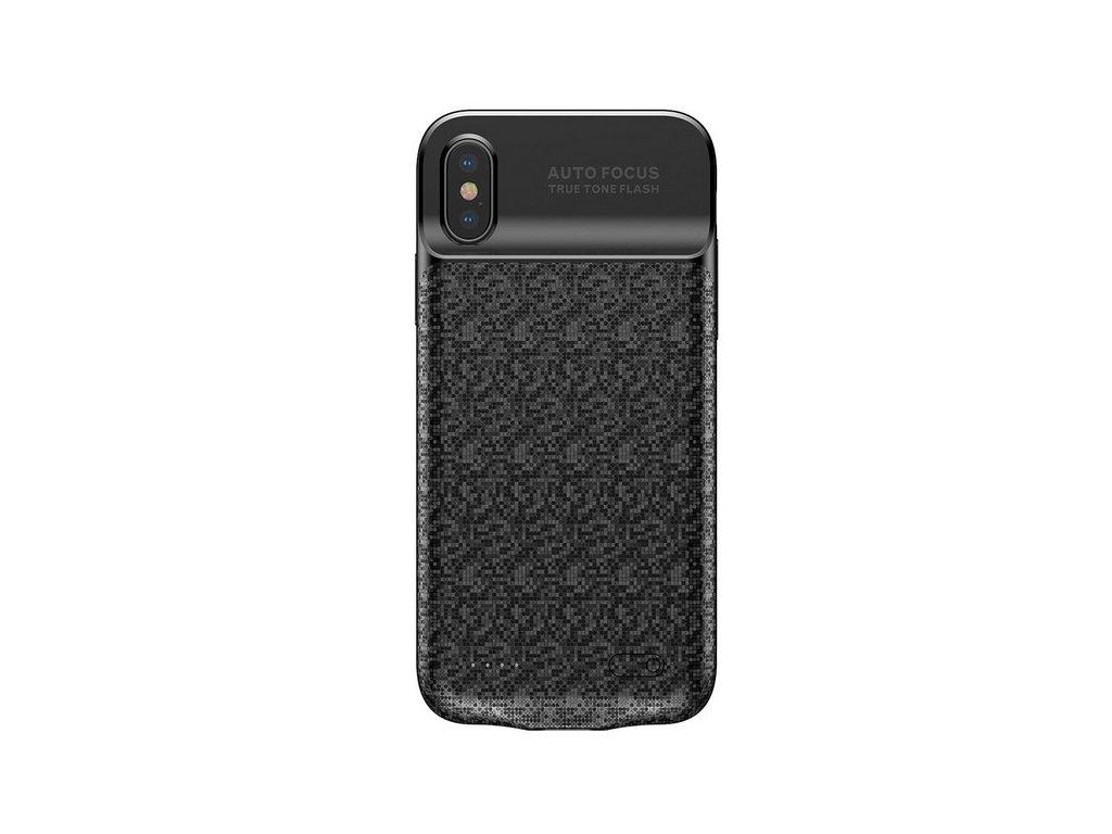 Baseus power bank case 3500mAh / iPhone X,XS černé