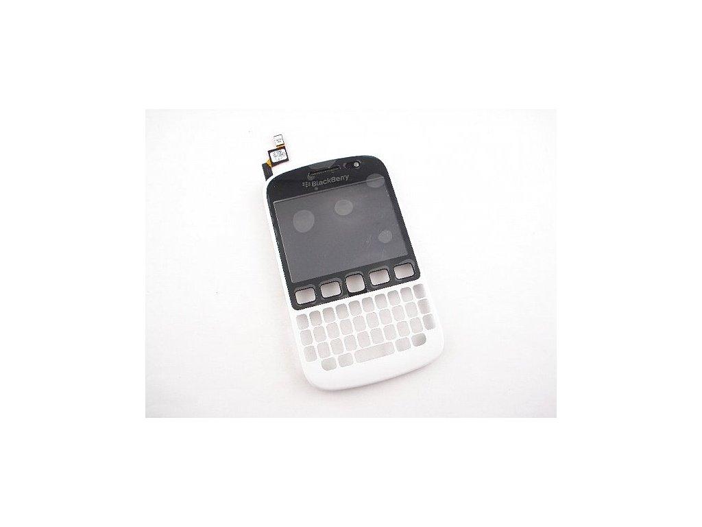 Blackberry 9720 přední kryt+dotyk bílý