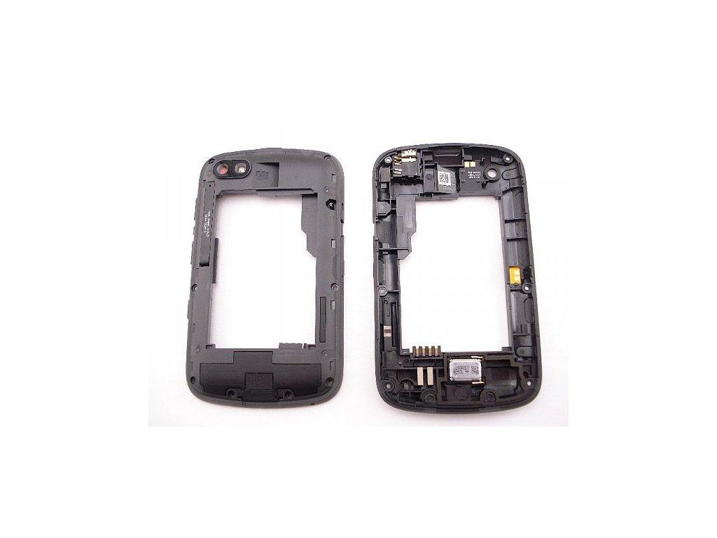 Blackberry 9720 střední kryt bílý