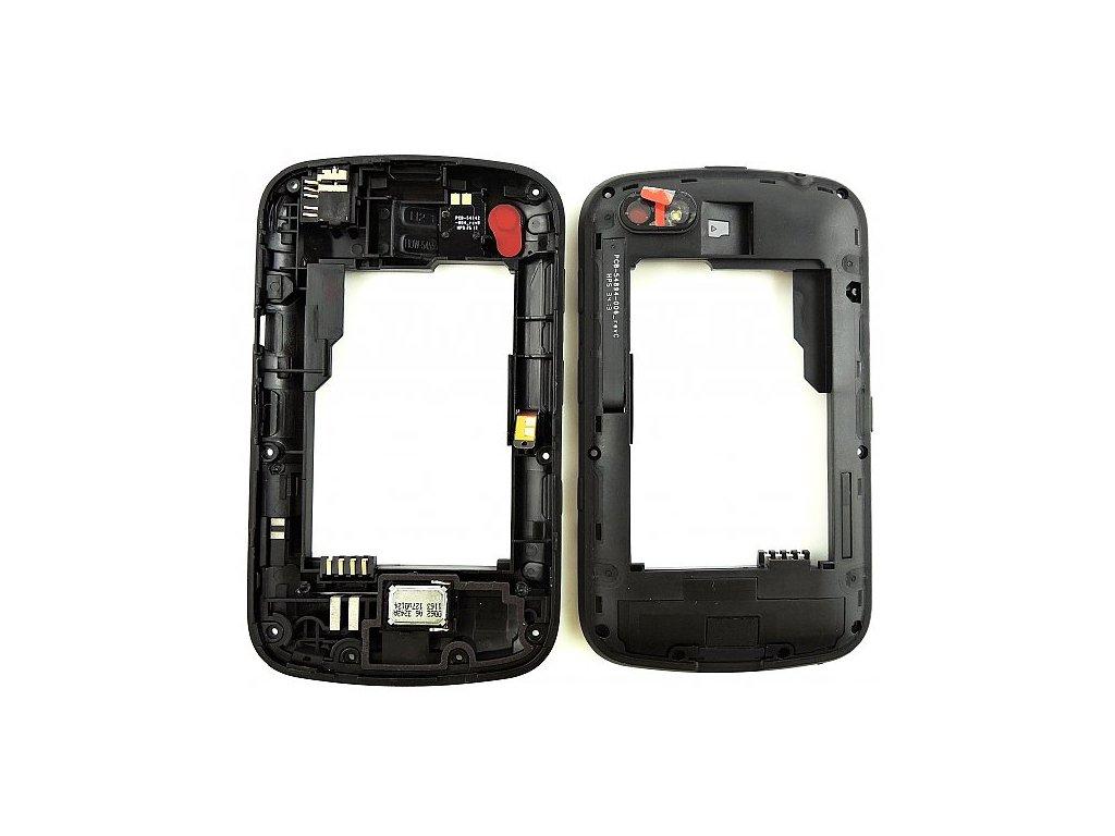 Blackberry 9720 střední kryt černý