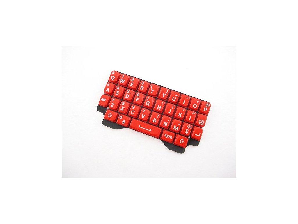 Blackberry Q5 klávesnice červená