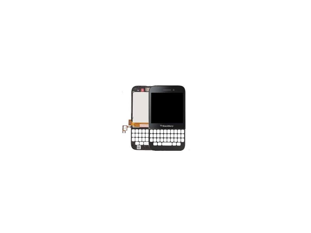 Blackberry Q5 kompletní LCD+dotyk černý 17pin