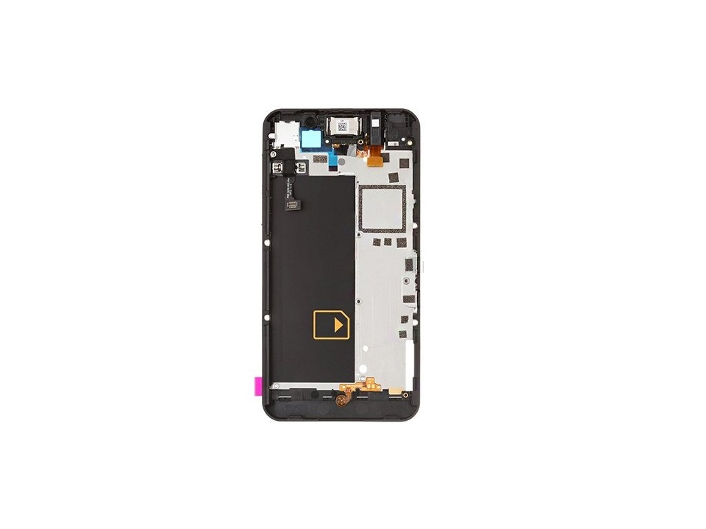 Blackberry Z10 4G přední kryt černý