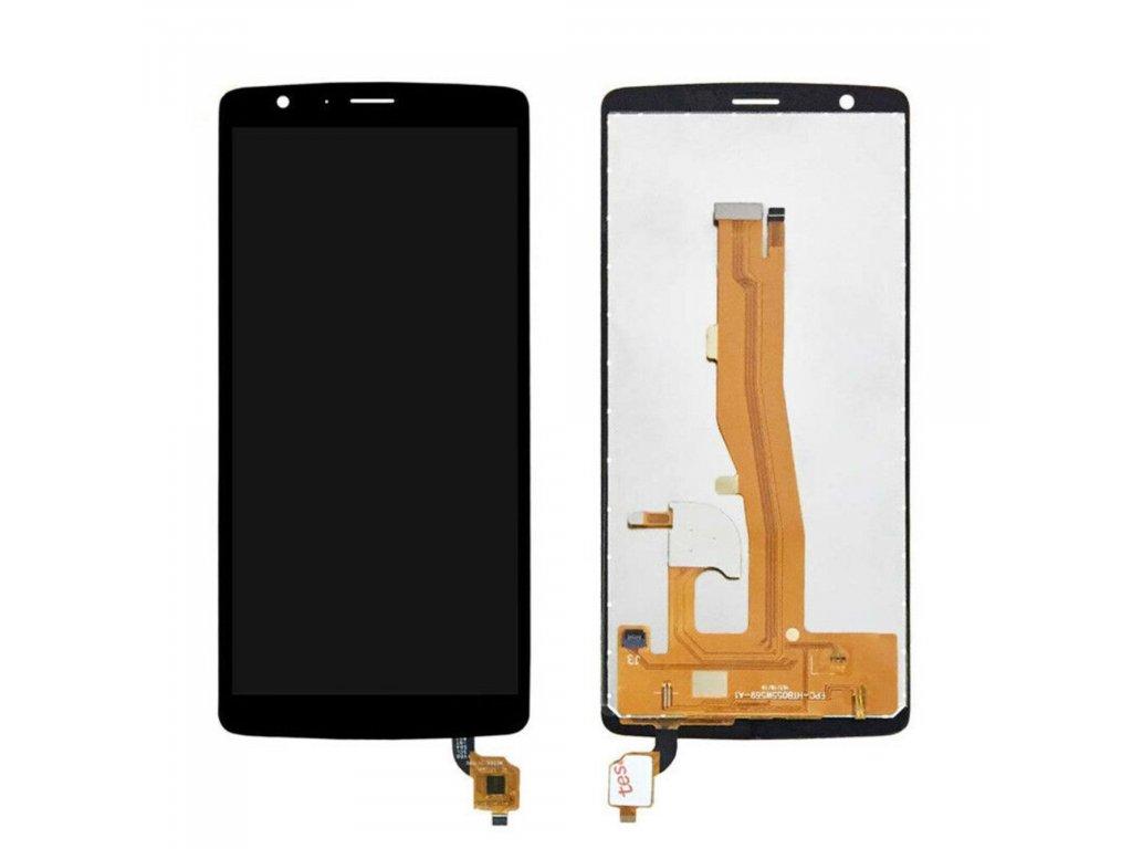 BlackView A20 LCD displej dotykové sklo komplet přední panel černý