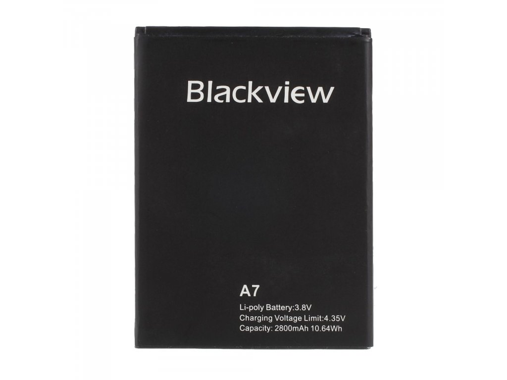BlackView A7 baterie 	2800mAh