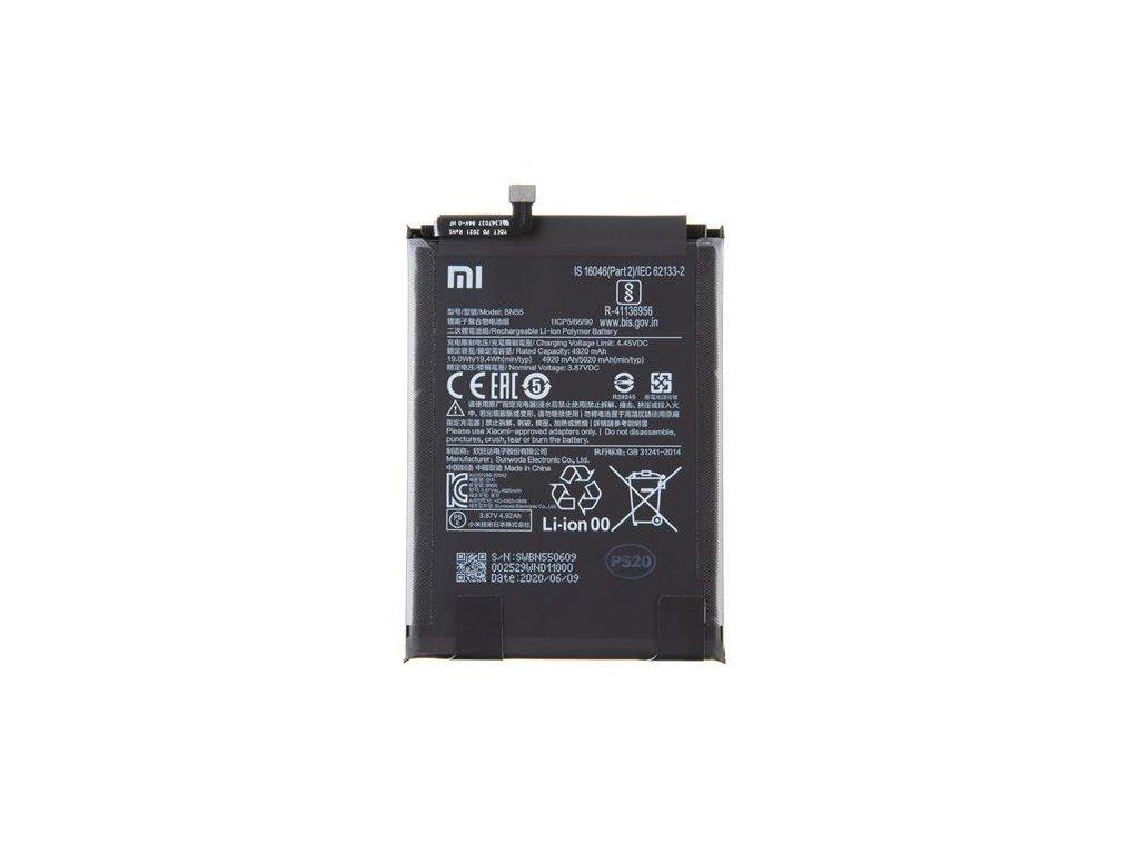 BN55 Xiaomi Original Baterie 5020mAh (Service Pack)