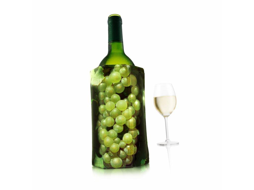 Chladič na víno vzor Hrozen bílý