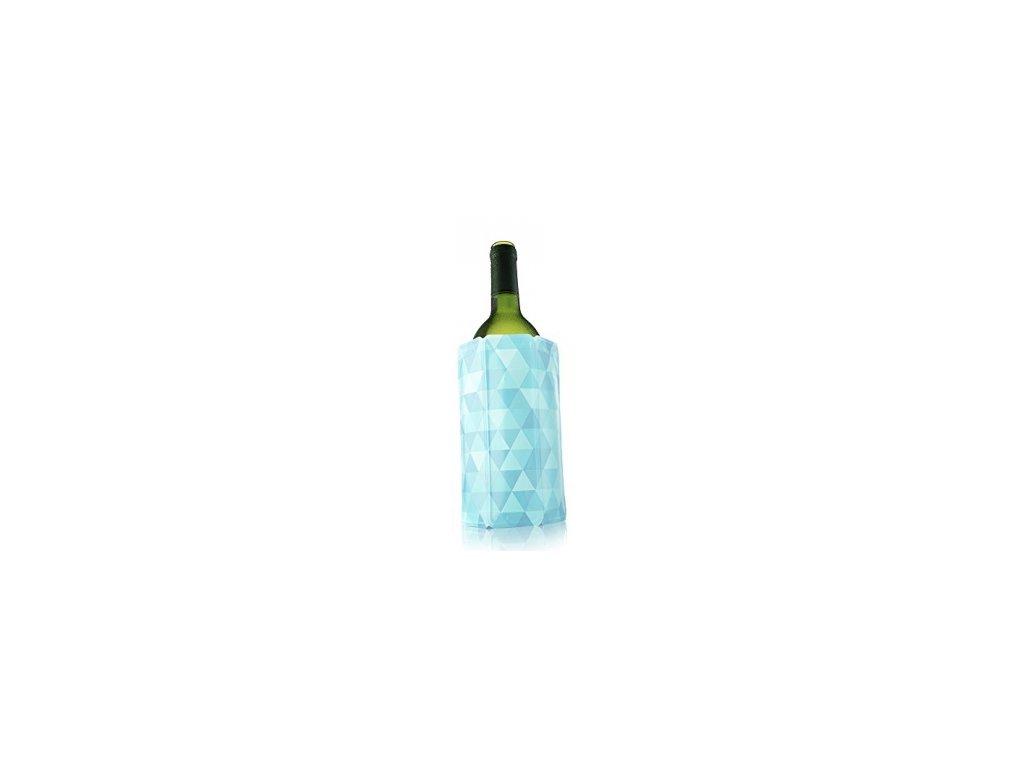 Chladič na víno vzor modrý diamant
