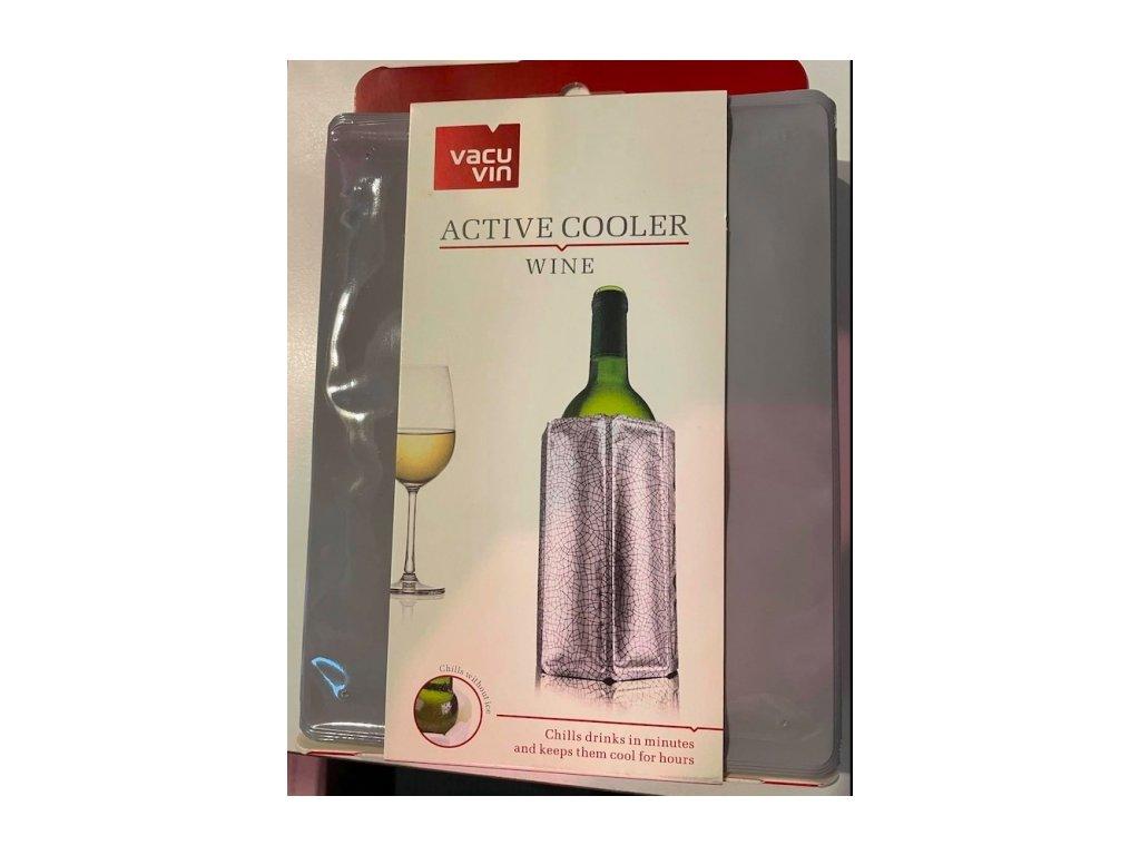 Chladič na víno vzor šedý
