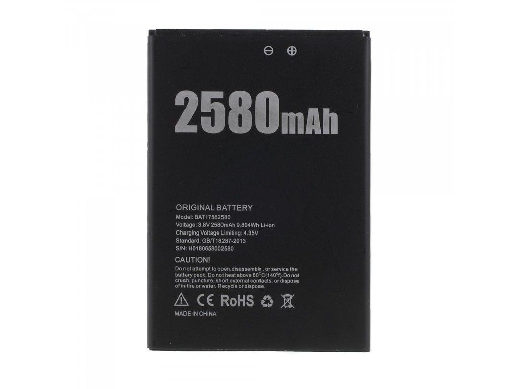 Doogee X20 Baterie BAT17582580 (2580mAh)