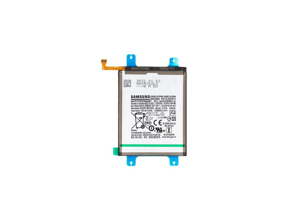EB-BA426ABY Samsung Baterie Li-lon 5000mAh (Service Pack)