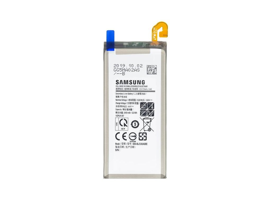 EB-BJ330ABE Samsung Baterie Li-Ion 2400mAh (Service pack)