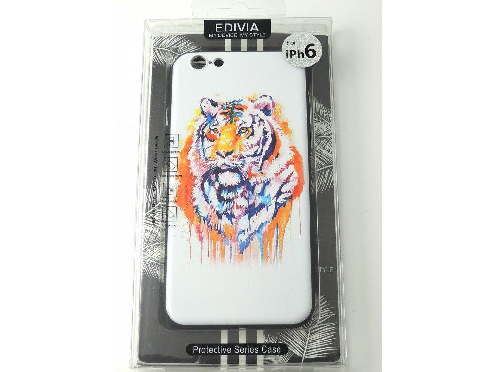 Edivia iPhone 6,6S 3D pouzdro Tygr