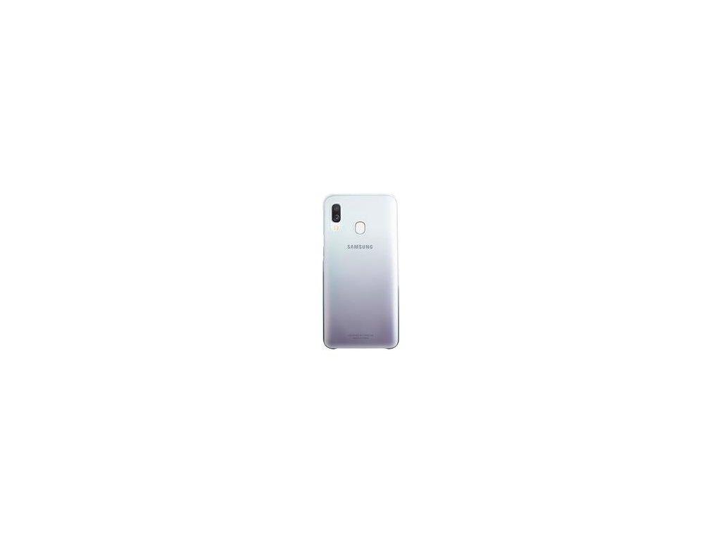 EF-AA405CBE Samsung Gradation Kryt pro Galaxy A40 Black