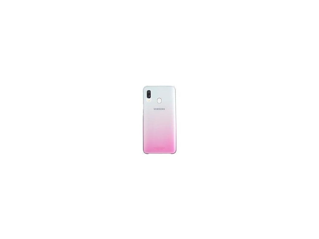EF-AA405CPE Samsung Gradation Kryt pro Galaxy A40 Pink