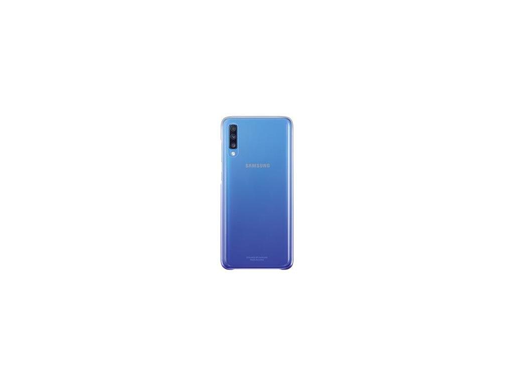 EF-AA705CVE Samsung Gradation Kryt pro Galaxy A70 Violet