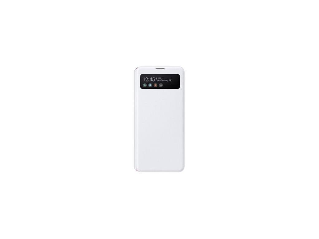 EF-EA415PWE Samsung S-View Pouzdro pro Galaxy A41 White