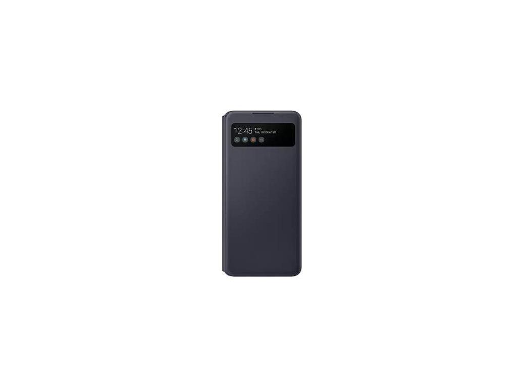 EF-EA426PBE Samsung S-View Pouzdro pro Galaxy A42 5G Black