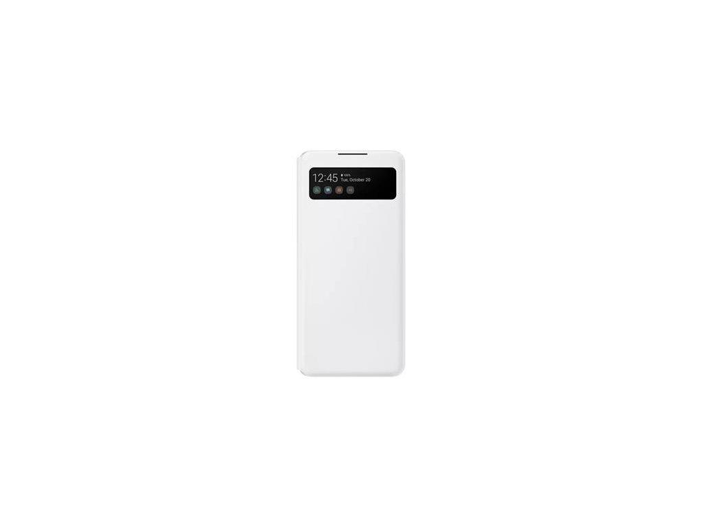 EF-EA426PWE Samsung S-View Pouzdro pro Galaxy A42 5G White