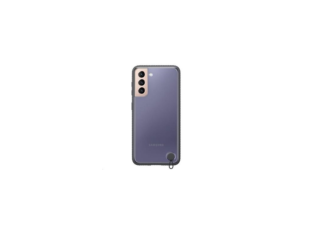 EF-GG991CBE Samsung Clear Protective Kryt pro Galaxy S21 Black