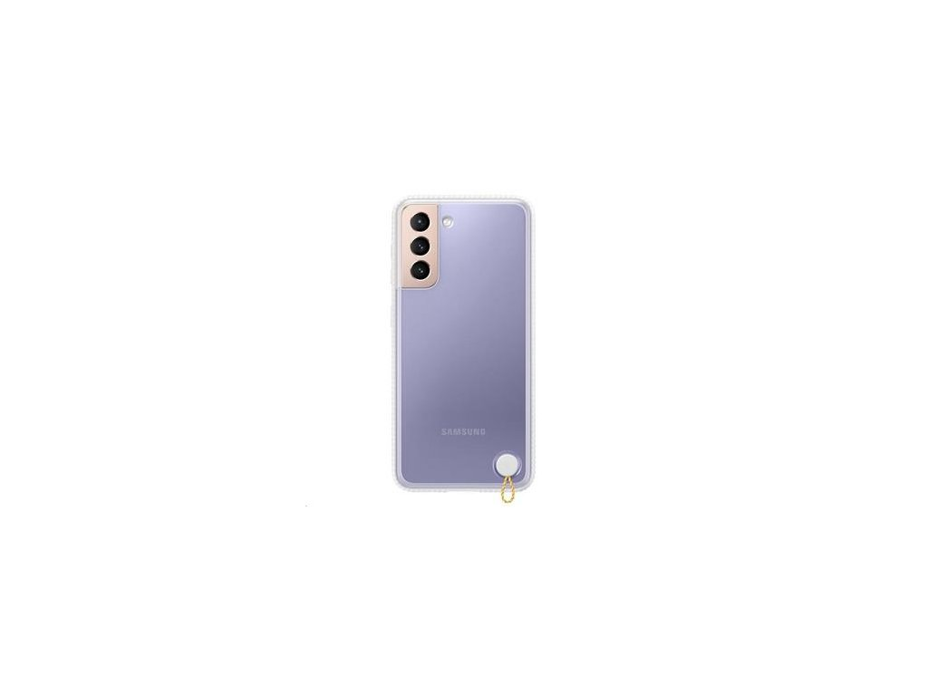 EF-GG991CWE Samsung Clear Protective Kryt pro Galaxy S21 White