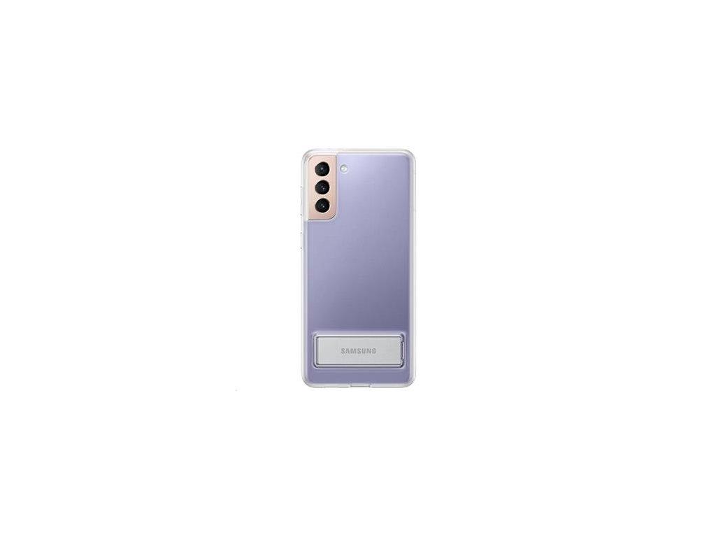 EF-JG996CTE Samsung Clear Standing Kryt pro Galaxy S21+ Transparent