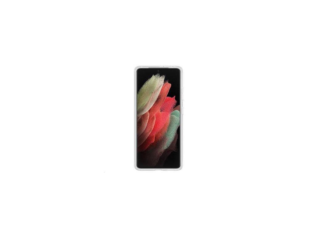 EF-JG998CTE Samsung Clear Standing Kryt pro Galaxy S21 Ultra Transparent