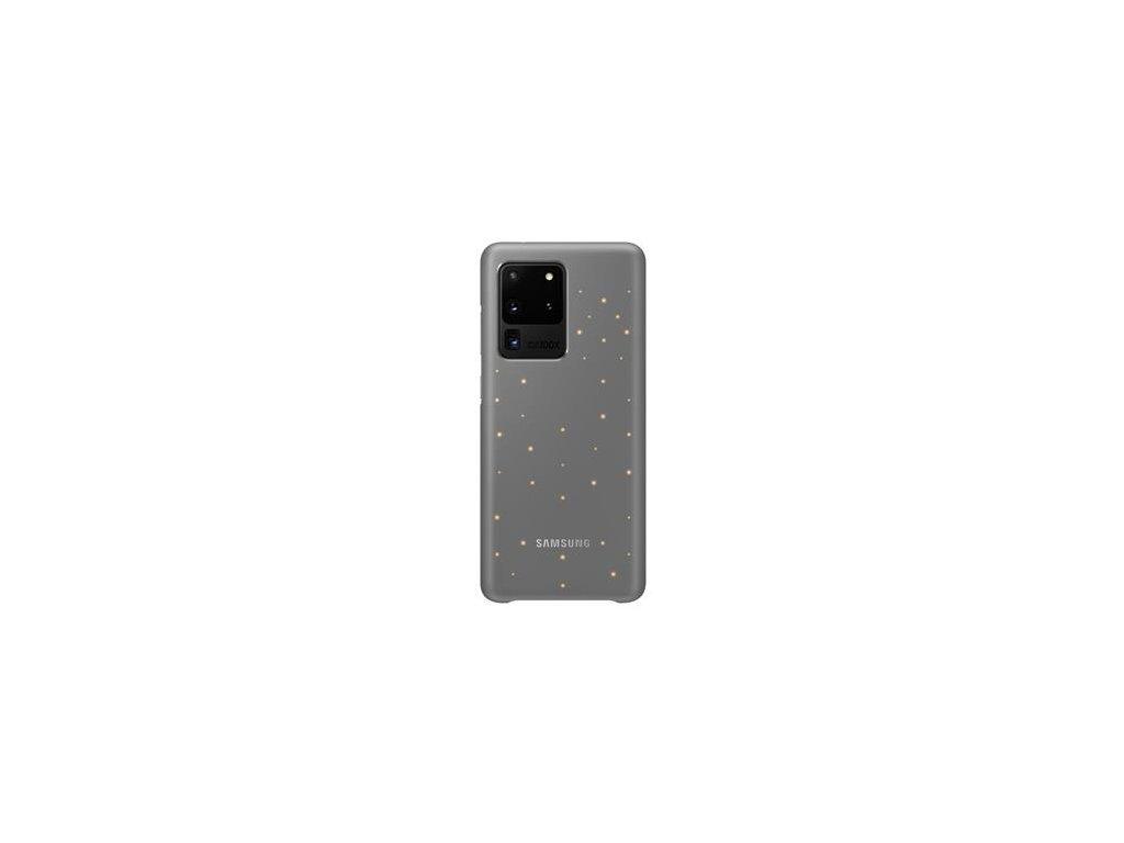 EF-KG988CJE Samsung LED Kryt pro Galaxy S20 Ultra Gray (Pošk. Balení)