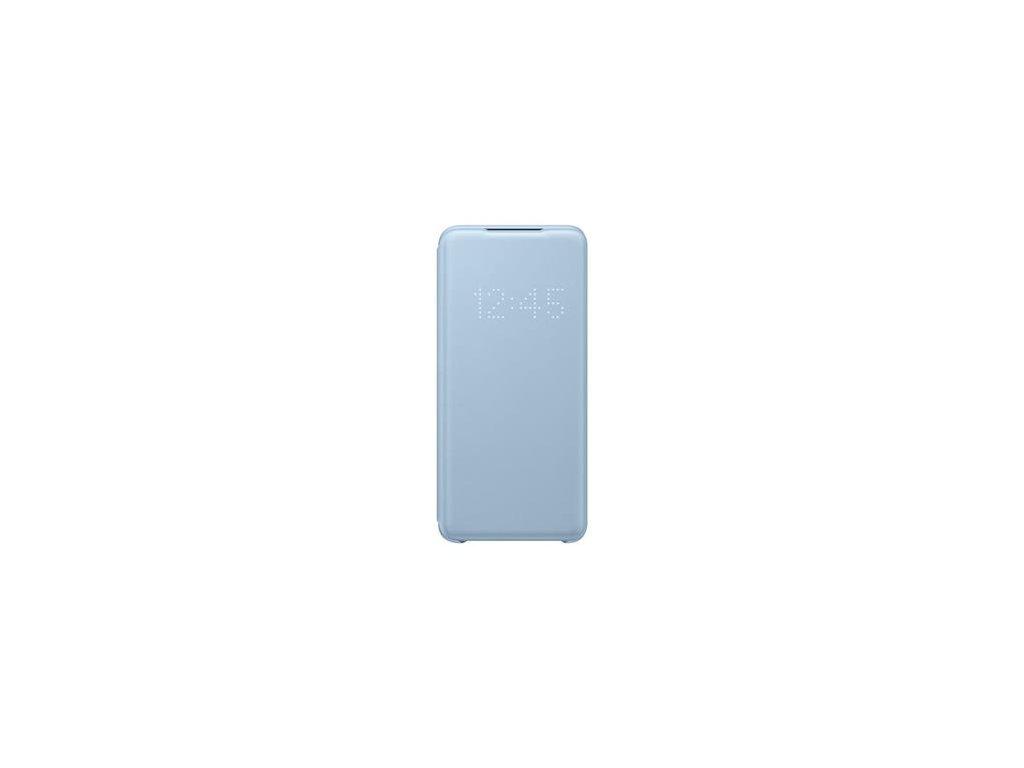 EF-NG980PLE Samsung LED S-View Pouzdro pro Galaxy S20 Blue (Pošk. Balení)