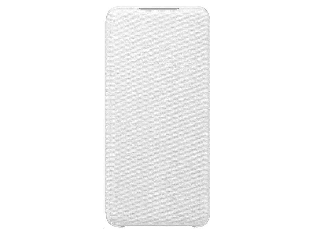 EF-NG980PWE Samsung LED S-View Pouzdro pro Galaxy S20 White