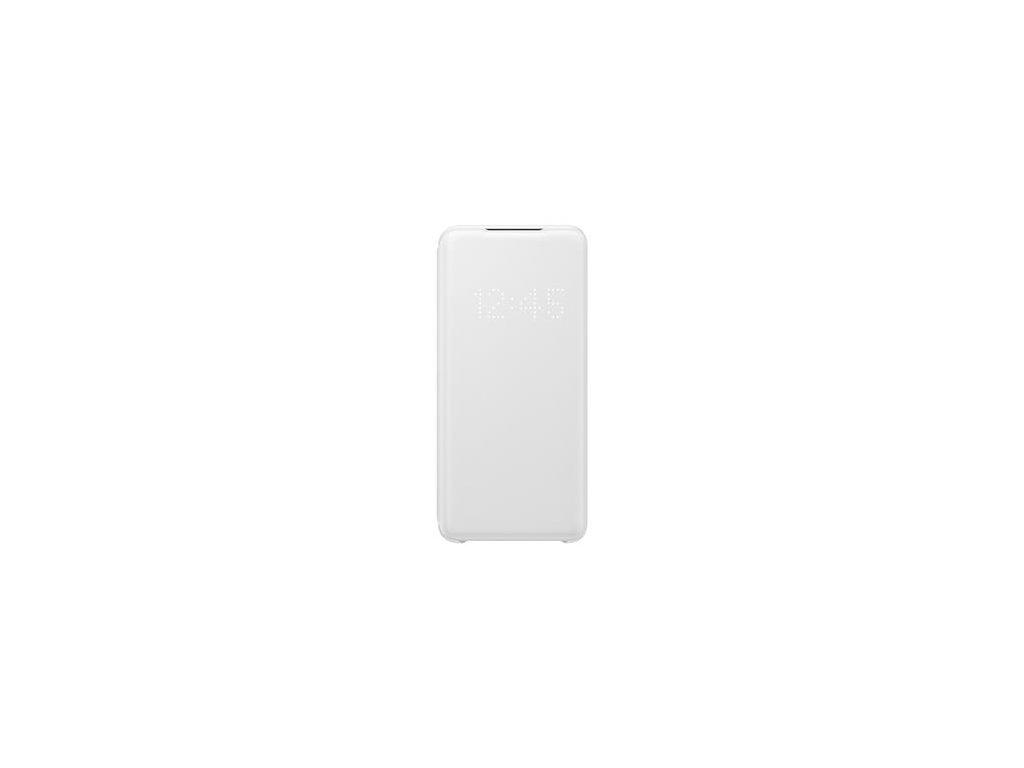 EF-NG980PWE Samsung LED S-View Pouzdro pro Galaxy S20 White (Pošk. Balení)